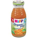 HIPP Бебешки Био сок от ябълки и моркови 4м+ 200 мл.